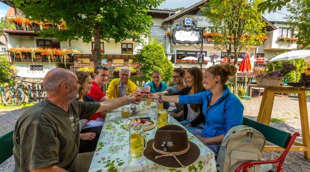Willkommen im Gasthof Pension St. Wolfgang